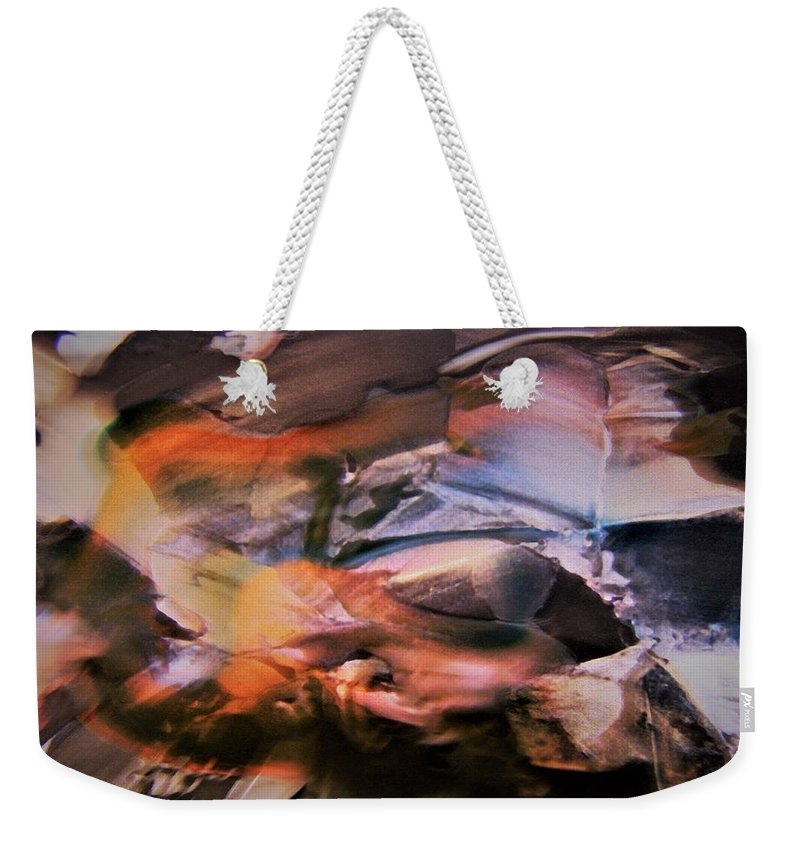 Autumn Weekender Tote Bag featuring the photograph Autumn Fades by Nordan Nielsen