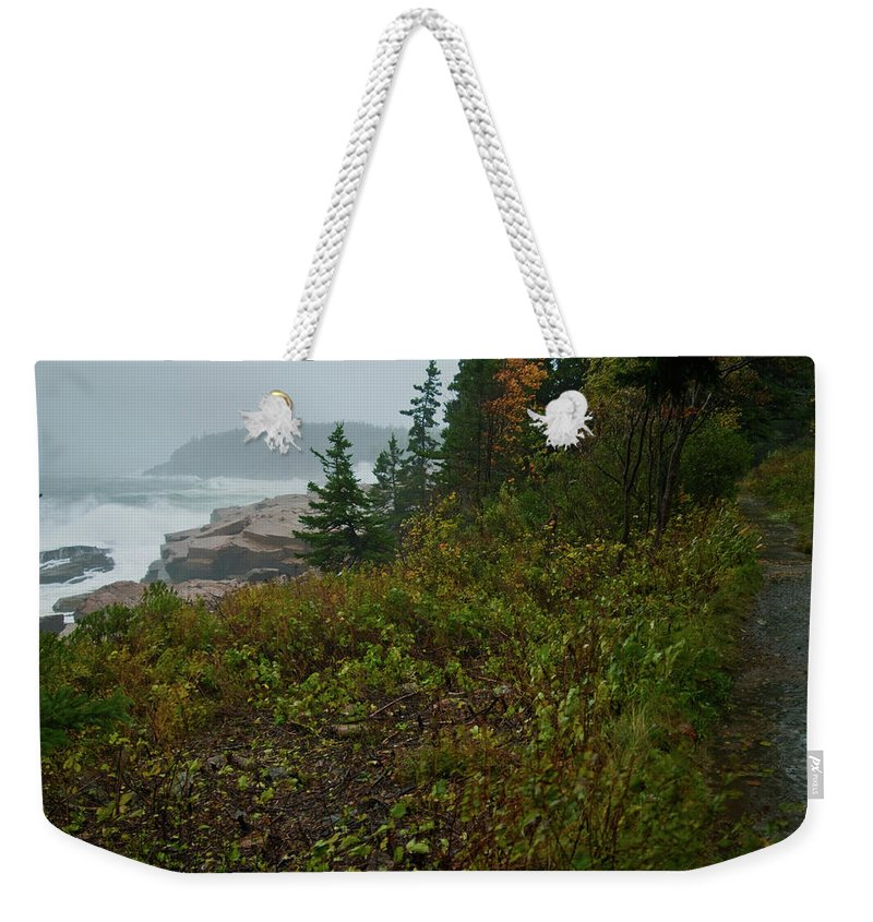 nor' Easter Weekender Tote Bag featuring the photograph Autumn Nor' Easter by Paul Mangold