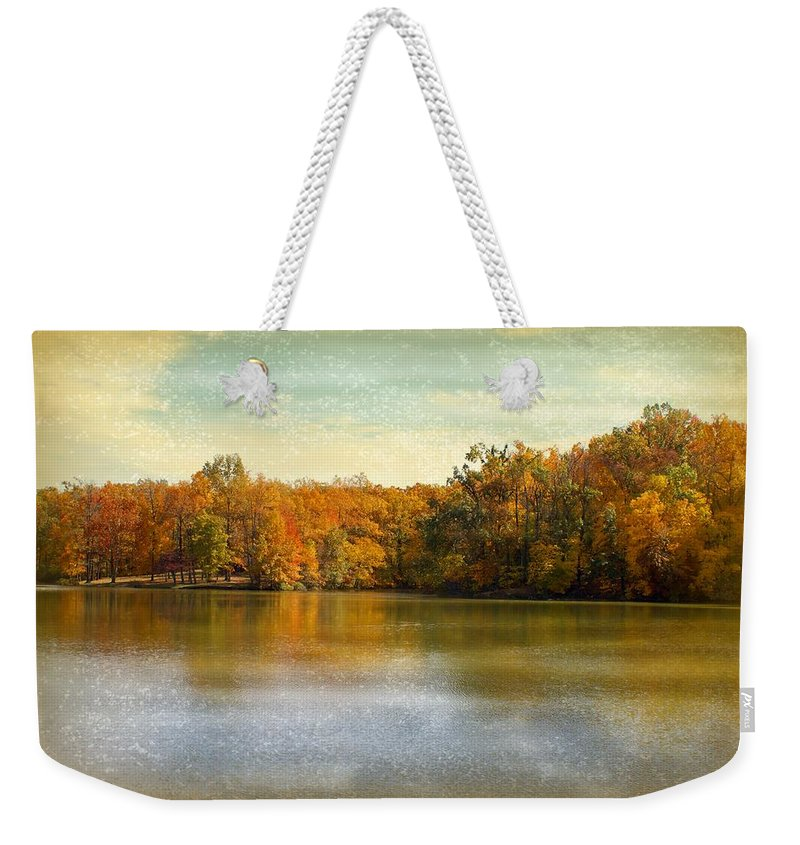 Autumn Weekender Tote Bag featuring the photograph Autumn by Sandy Keeton