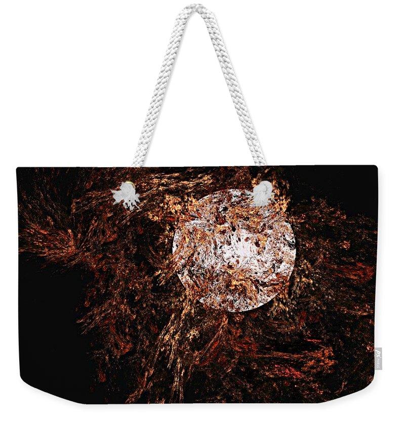 Digital Painting Weekender Tote Bag featuring the digital art Autumn Wind 1 by David Lane