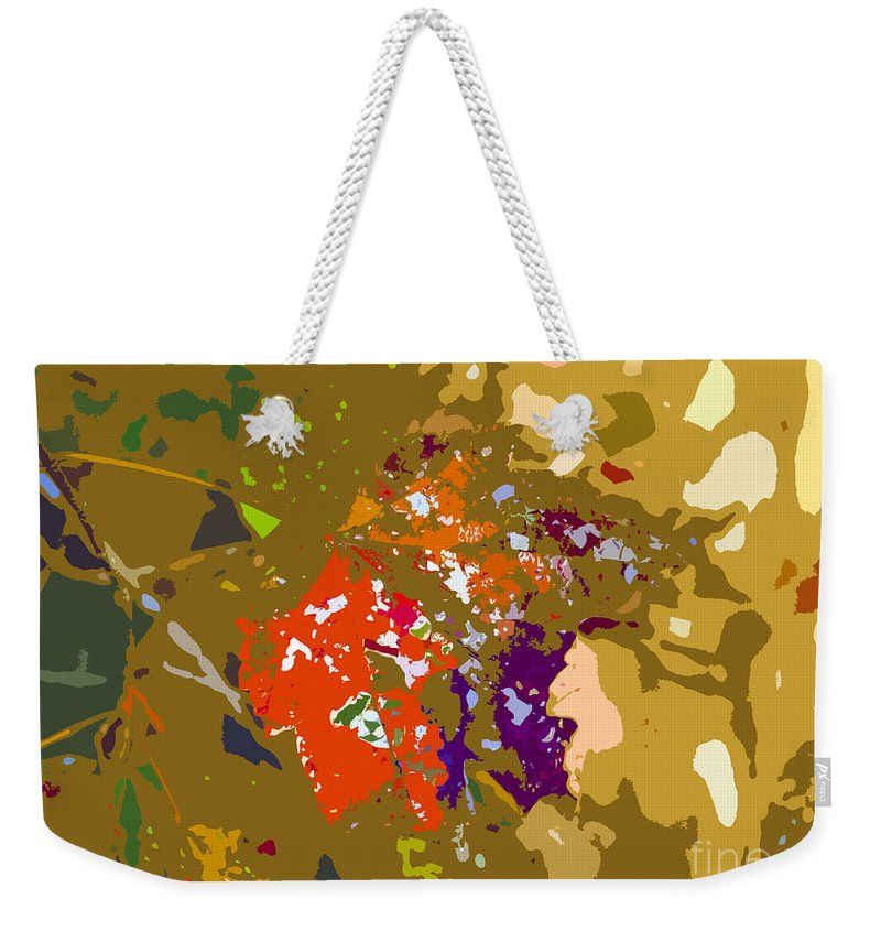 Autumn Weekender Tote Bag featuring the photograph Autumns Leaf by David Lee Thompson