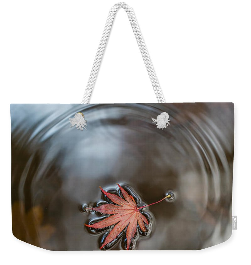 Fall Colors Weekender Tote Bag featuring the photograph Autumns Peace by Mike Reid