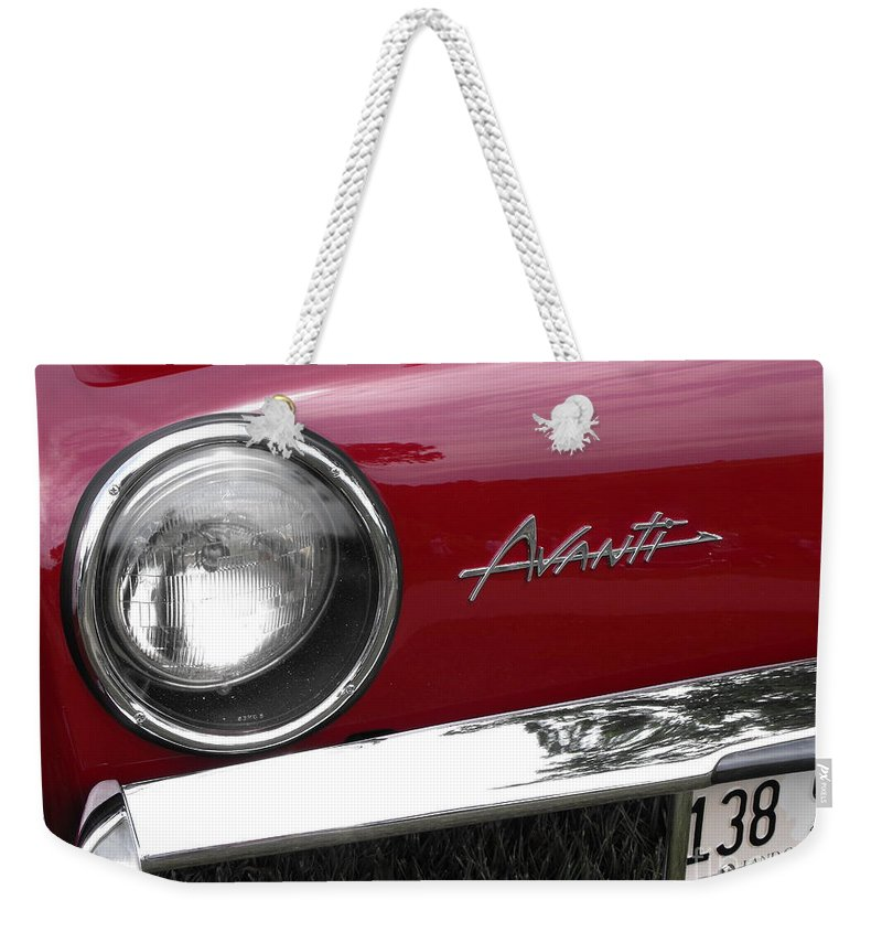 Avanti Weekender Tote Bag featuring the photograph Avanti by Neil Zimmerman