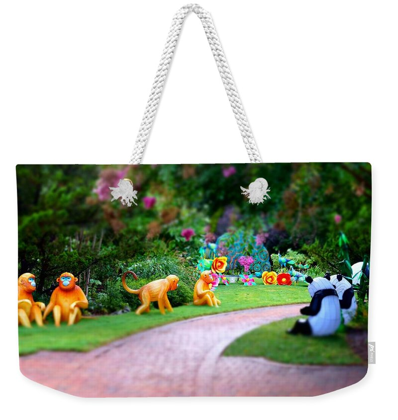 Weekender Tote Bag featuring the photograph Avenue Of Dreams 9 by Rodney Lee Williams