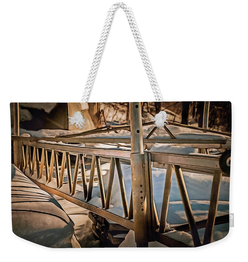 Weekender Tote Bag featuring the photograph Awaiting Summer by Chroma Photographer