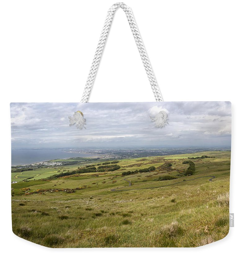 Ayr Weekender Tote Bag featuring the photograph Ayr by Eunice Gibb