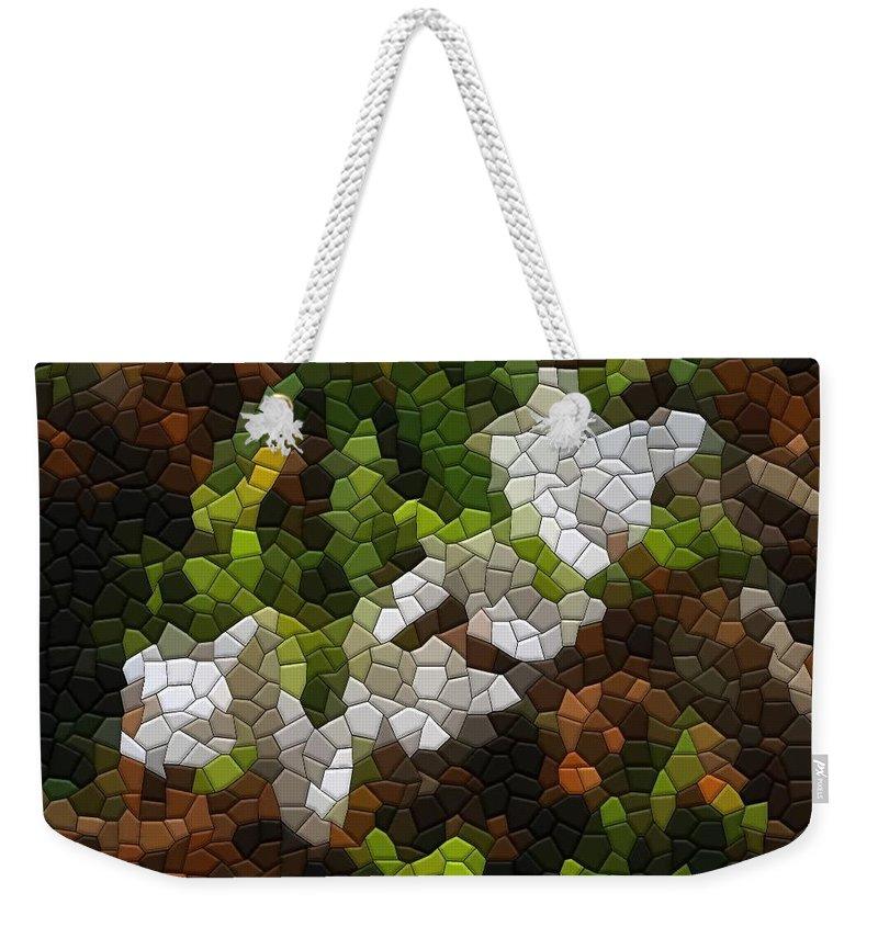 Azalea Weekender Tote Bag featuring the photograph Azaleas Already by Kathryn Meyer