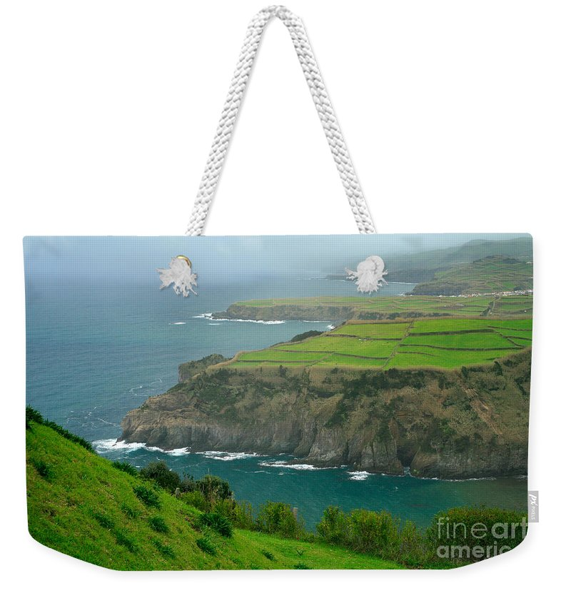 Azores Weekender Tote Bag featuring the photograph Azores Coastal Landscape by Gaspar Avila