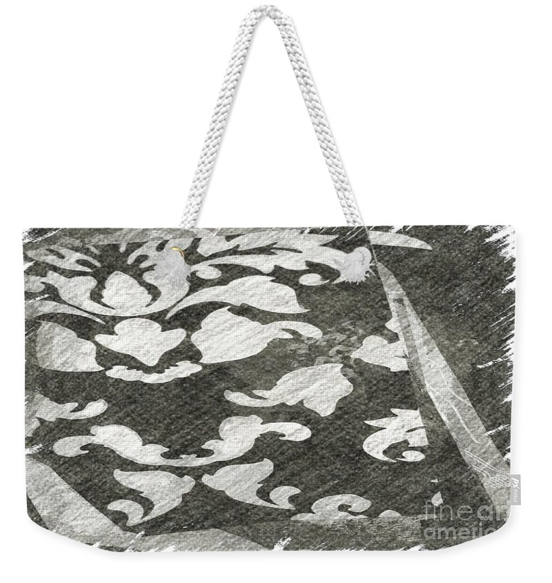 Abstract Weekender Tote Bag featuring the photograph B And W by Alwyn Glasgow
