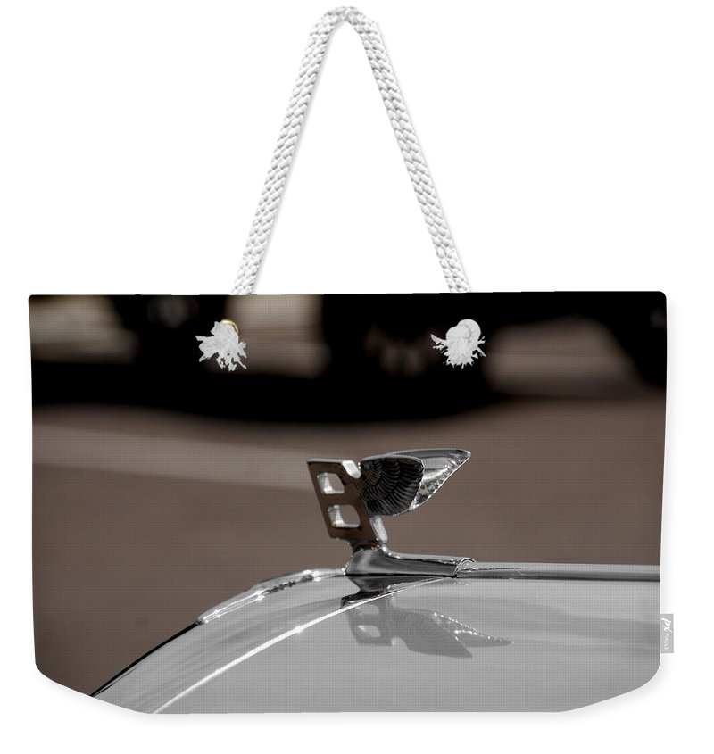 Cars Weekender Tote Bag featuring the photograph B For Bentley by Susanne Van Hulst