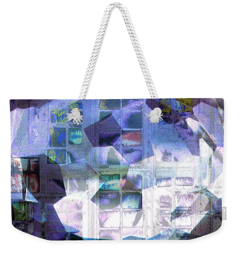 Windows Weekender Tote Bag featuring the digital art Baby Its Cold Outside by Seth Weaver