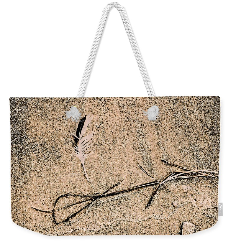 Fine Art Weekender Tote Bag featuring the photograph Back For Ever Zen by Susanne Van Hulst