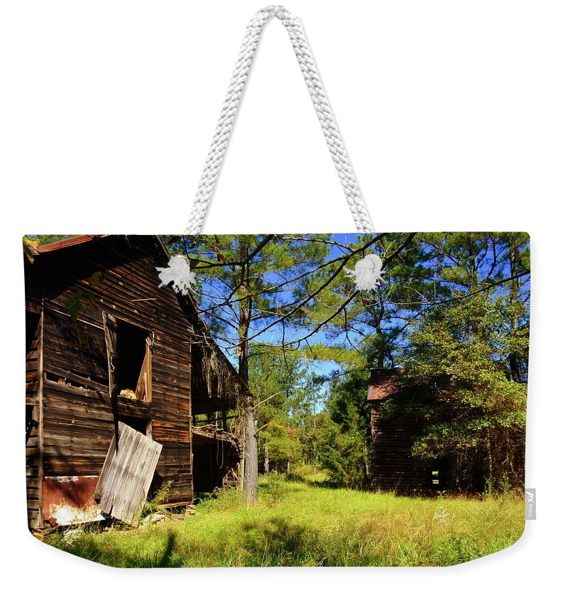 Back In The Day Weekender Tote Bag featuring the photograph Back In The Day by Lisa Wooten