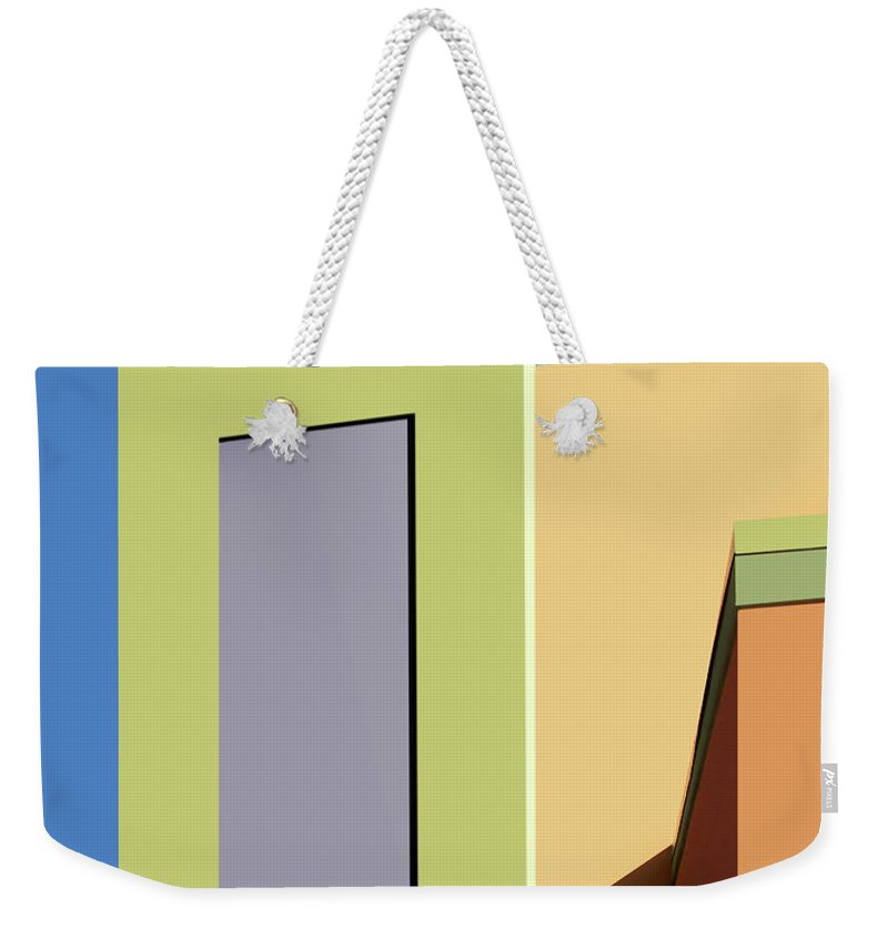 New Mexico Weekender Tote Bag featuring the photograph Back To The Market by Nikolyn McDonald