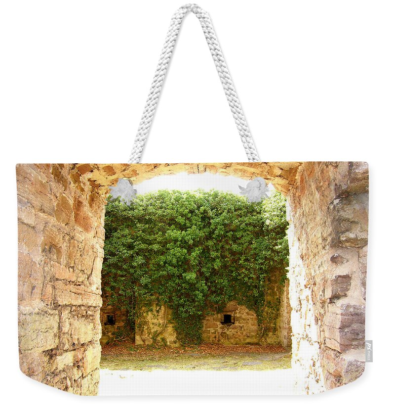 Backyard Weekender Tote Bag featuring the photograph Backyard by Are Lund
