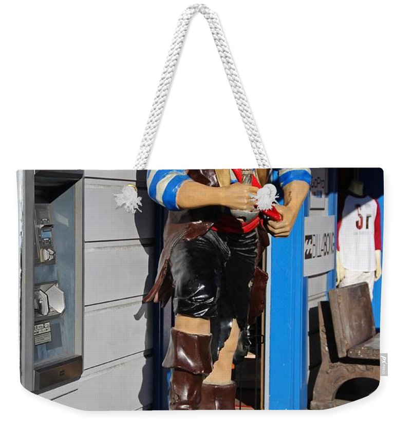 Sailor Weekender Tote Bag featuring the photograph Bad, Wicked And Twisted by Michiale Schneider
