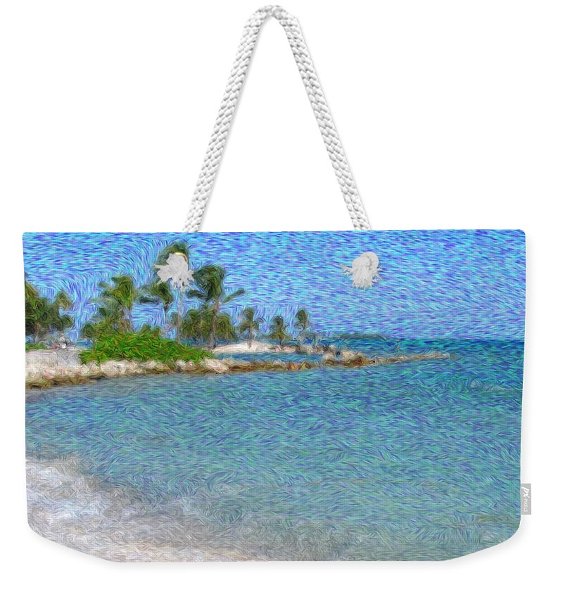 Bahamas Weekender Tote Bag featuring the photograph Bahamas II by Julie Niemela
