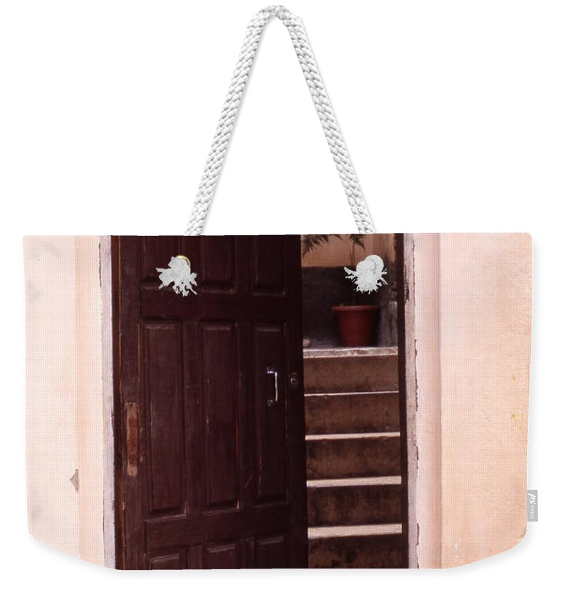 Bahia Weekender Tote Bag featuring the photograph Bahian Opening by Patrick Klauss