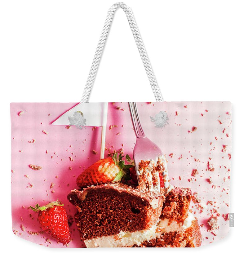 Sweet Weekender Tote Bag featuring the photograph Bakers Downfall by Jorgo Photography - Wall Art Gallery