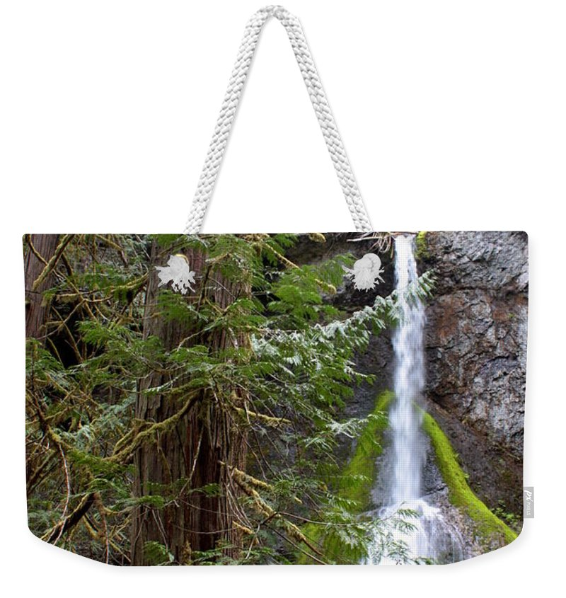 Landscape Weekender Tote Bag featuring the photograph Balance In Nature by Carol Groenen