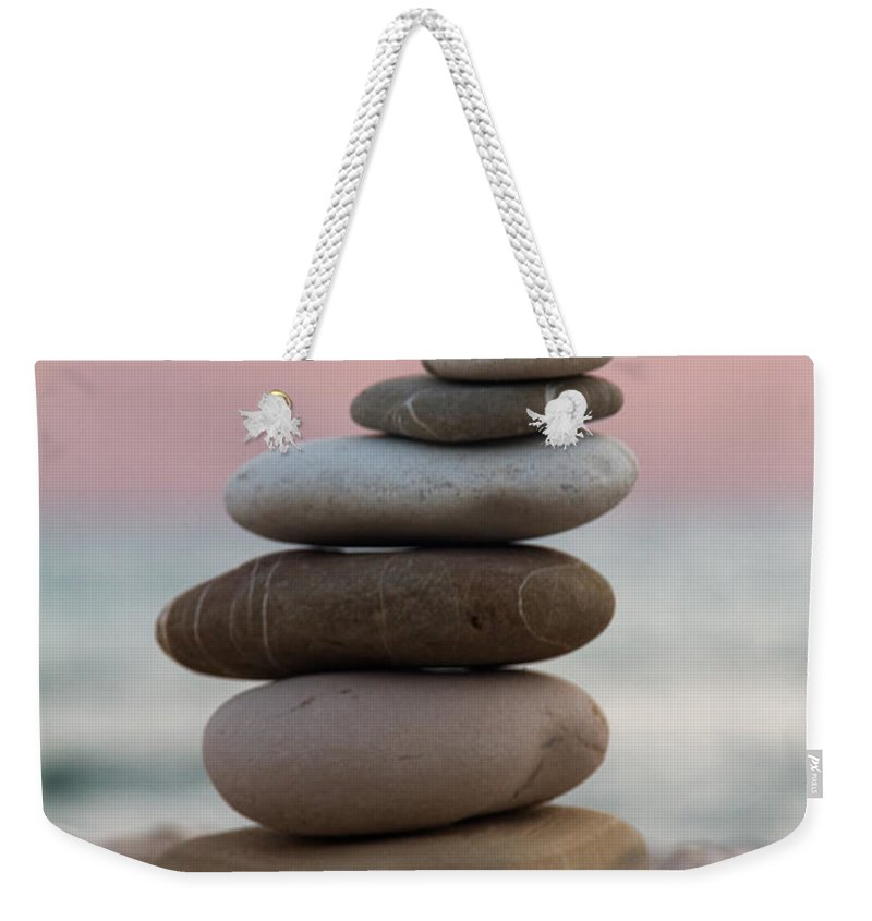 Arrangement Weekender Tote Bag featuring the photograph Balance by Stelios Kleanthous