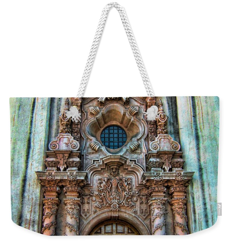 San Diego Weekender Tote Bag featuring the photograph Balboa Park 7 by Tammy Wetzel