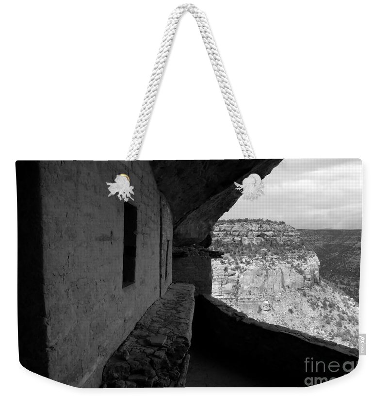 Balcony House Weekender Tote Bag featuring the photograph Balcony House by David Lee Thompson