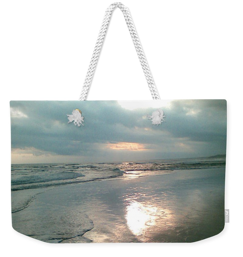 Bali Weekender Tote Bag featuring the photograph Bali Dusk by Mark Sellers