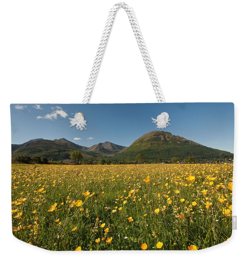 Scotland Weekender Tote Bag featuring the photograph Ballachulish by Colette Panaioti