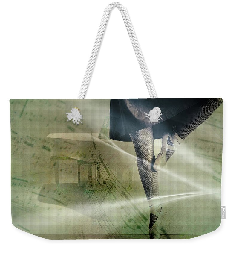 Ballerina Weekender Tote Bag featuring the photograph Ballerina by Mountain Dreams