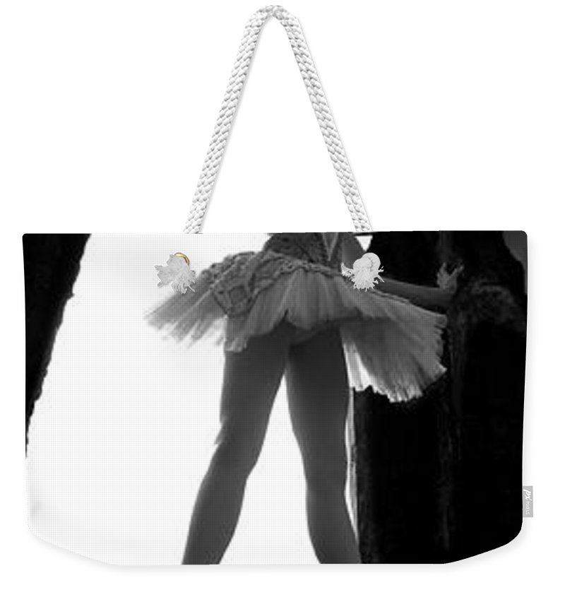 Ballet Dancer Weekender Tote Bag featuring the photograph Ballet Dancer1 by George Cabig