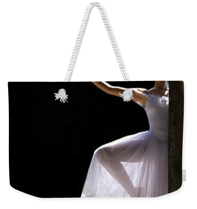 Ballet Dancer Weekender Tote Bag featuring the photograph Ballet Dancer6 by George Cabig