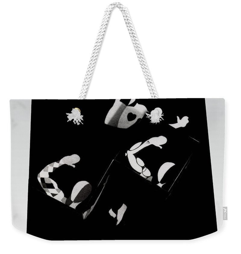 Dance Weekender Tote Bag featuring the photograph Ballet Silouette by Charles Stuart