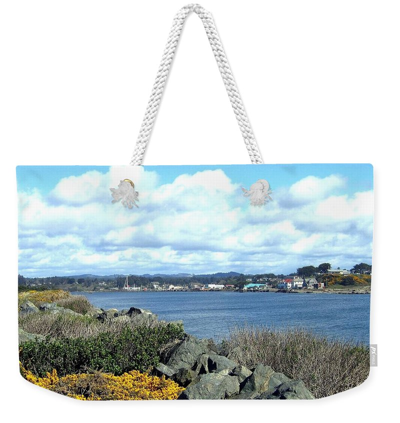 Bandon Weekender Tote Bag featuring the photograph Bandon 2 by Will Borden