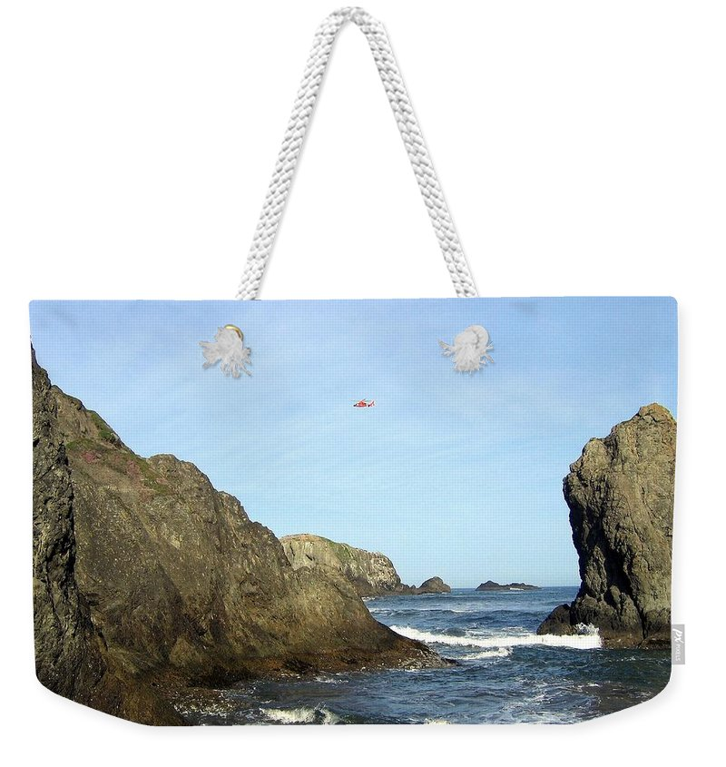 #bandon28 Weekender Tote Bag featuring the photograph Bandon 28 by Will Borden