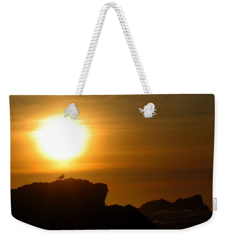 Bandon Weekender Tote Bag featuring the photograph Bandon 30 by Will Borden