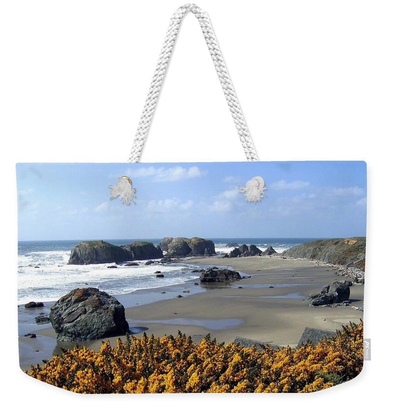 Bandon Weekender Tote Bag featuring the photograph Bandon 4 by Will Borden
