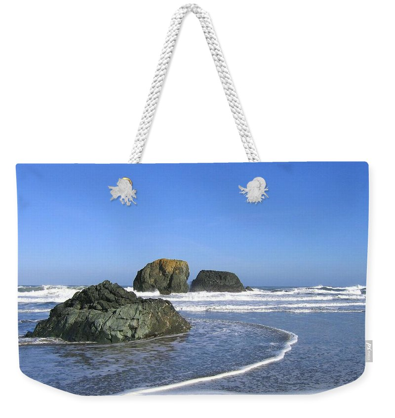 Bandon 5 Weekender Tote Bag featuring the photograph Bandon 5 by Will Borden