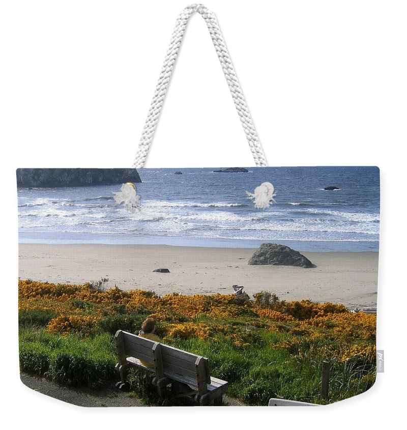 Bandon Weekender Tote Bag featuring the photograph Bandon 6 by Will Borden