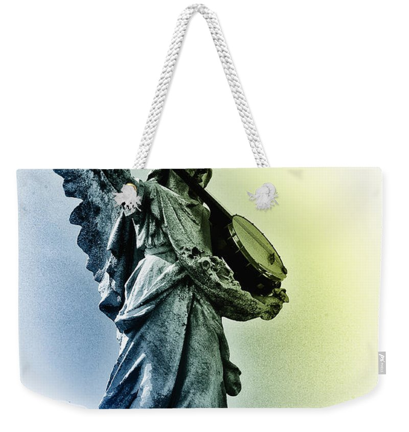 Banjo Weekender Tote Bag featuring the photograph Banjo Heaven by Bill Cannon