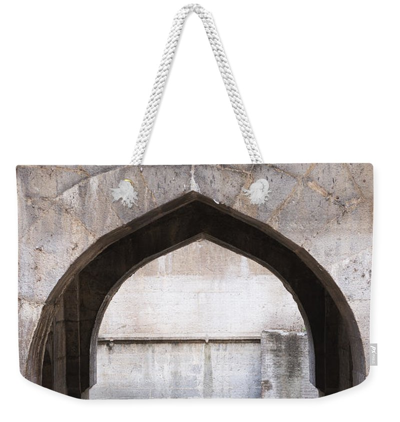 Well Weekender Tote Bag featuring the photograph Baramotachi Vihir Historic 12 Channel Flow Well by Kiran Joshi