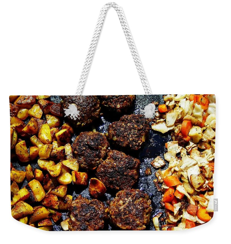 Barbecue Weekender Tote Bag featuring the photograph Barbecue ... by Juergen Weiss
