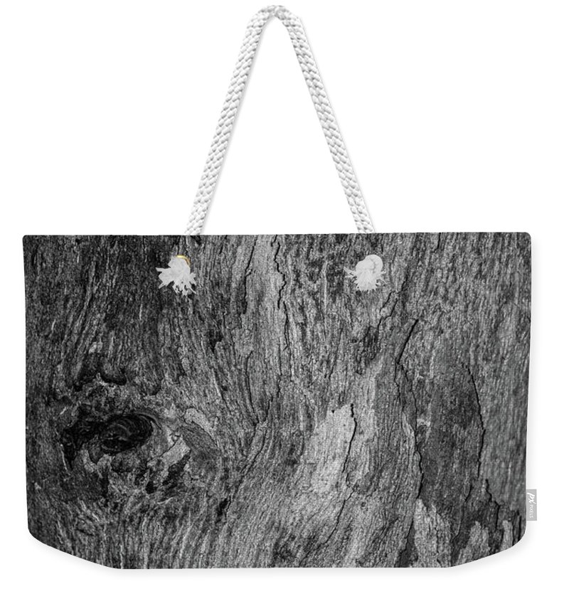 Bark Weekender Tote Bag featuring the photograph Bark At The Moon by Evil Shadows