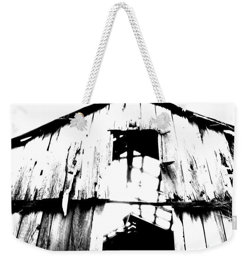 Barn Weekender Tote Bag featuring the photograph Barn by Amanda Barcon