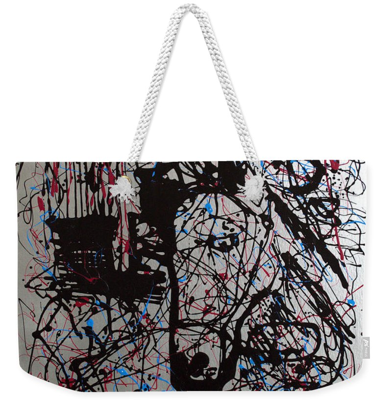 Impressionist Painting Weekender Tote Bag featuring the painting Barnyard Horse by J R Seymour