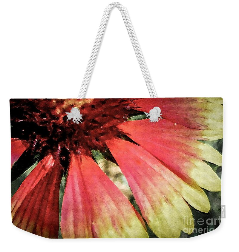 Flora Weekender Tote Bag featuring the photograph Basking In The Sun by Todd A Blanchard
