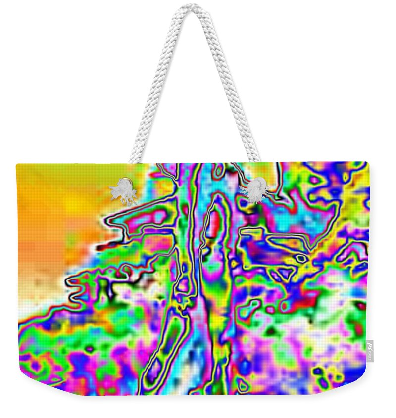 Bather Weekender Tote Bag featuring the photograph Bathing Beauty by Tim Allen