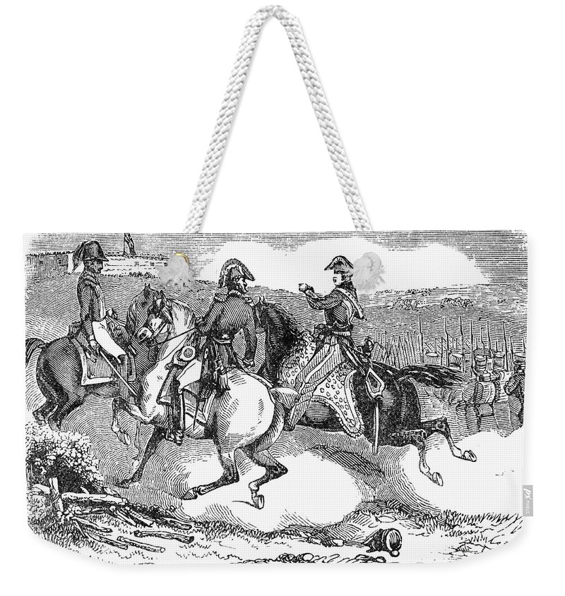 1814 Weekender Tote Bag featuring the photograph Battle Of Lundys Lane by Granger