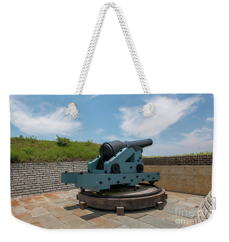 Fort Moultrie Weekender Tote Bag featuring the photograph Battle Tested by Dale Powell