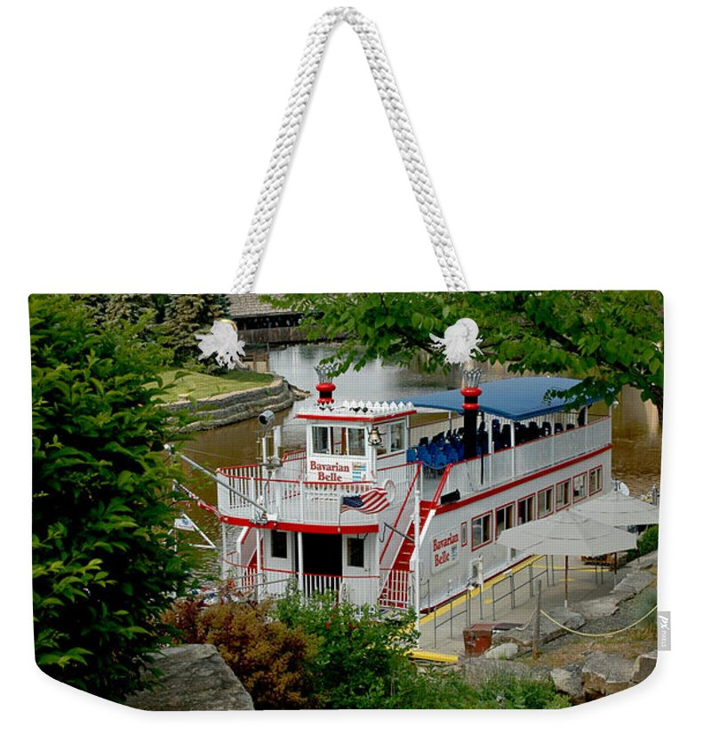 Usa Weekender Tote Bag featuring the photograph Bavarian Belle Rocks by LeeAnn McLaneGoetz McLaneGoetzStudioLLCcom